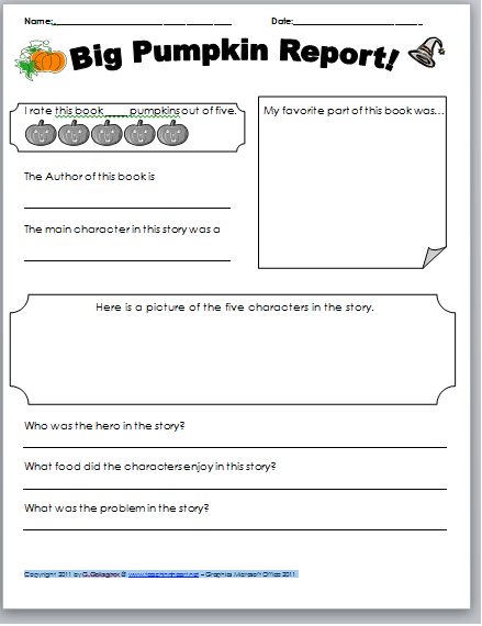 math worksheet : a pumpkin unit  filled with lessons printables and more : Kindergarten Pumpkin Worksheets