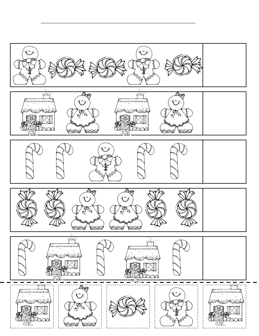 ... many free Gingerbread Printables like the one below … THANK YOU
