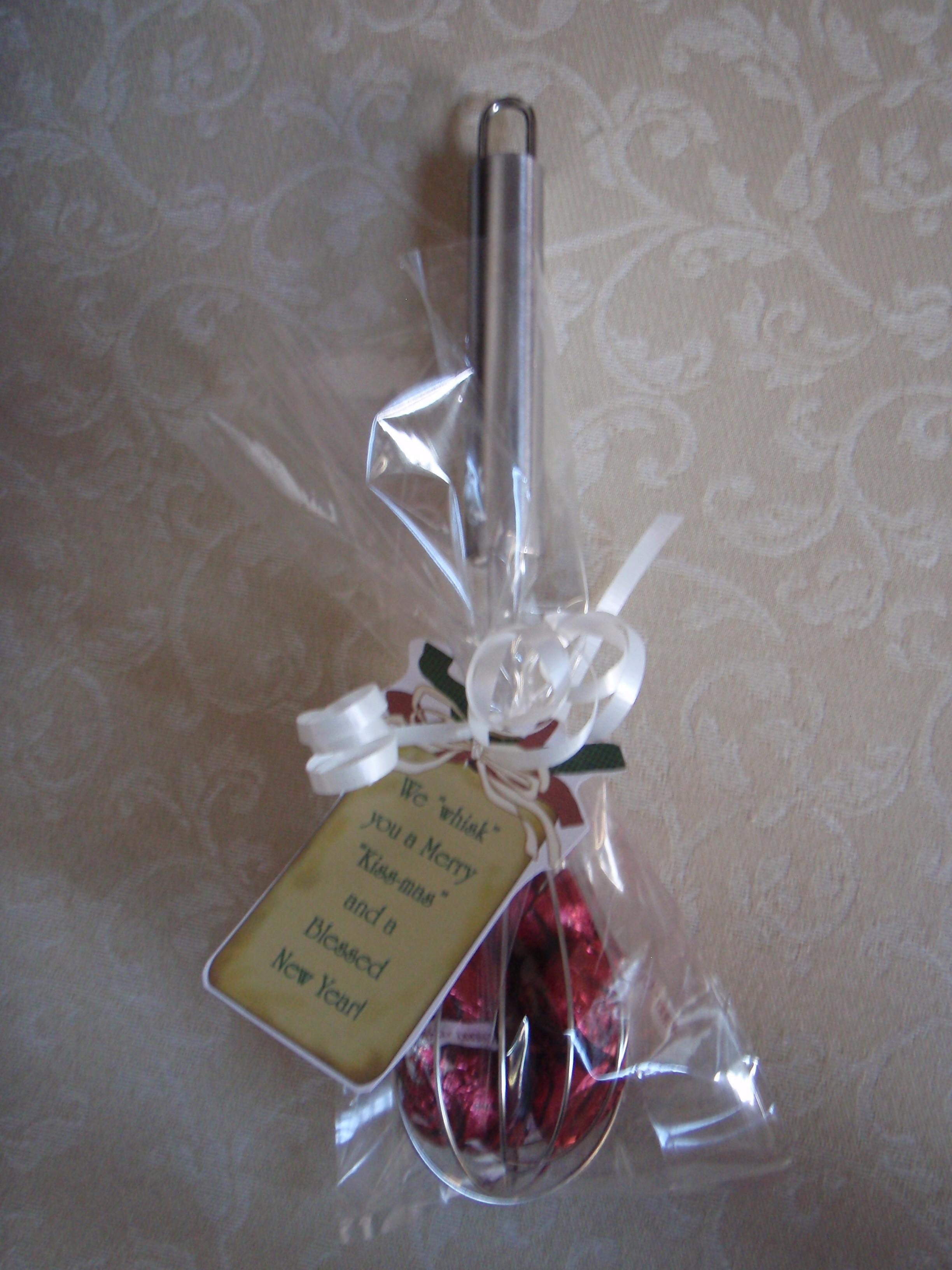 Hershey kisses gift christmas tag ideas