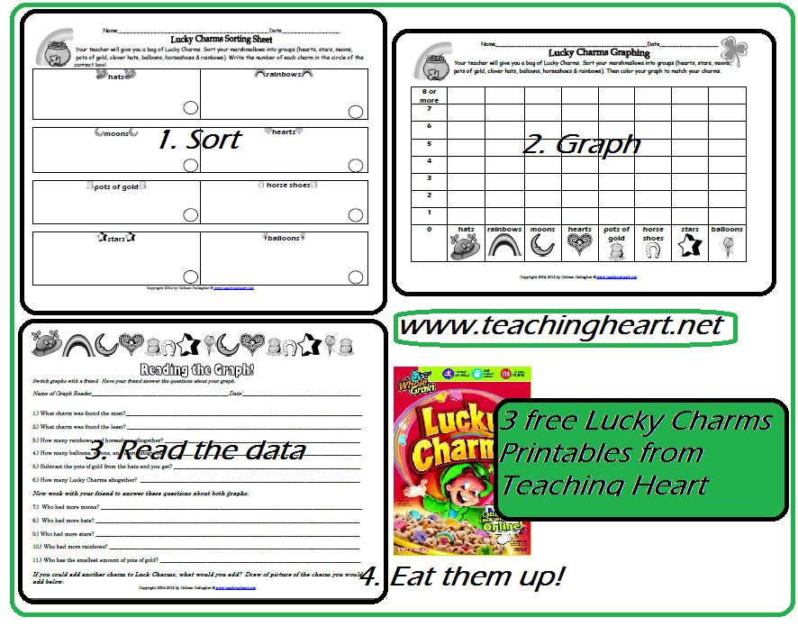 Free Lucky Charms Sort Graph Data - Teaching Heart Blog