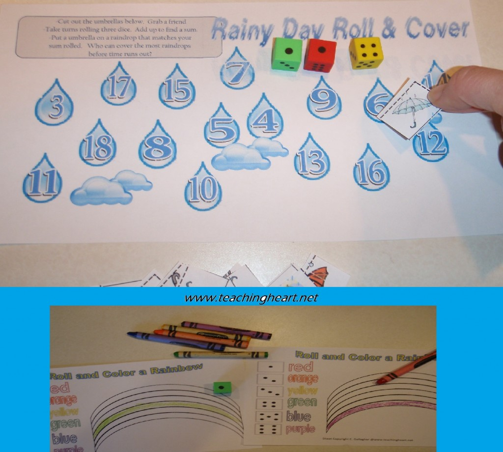 Unit study colors preschool - Click Rainrollandcoverteachingheart