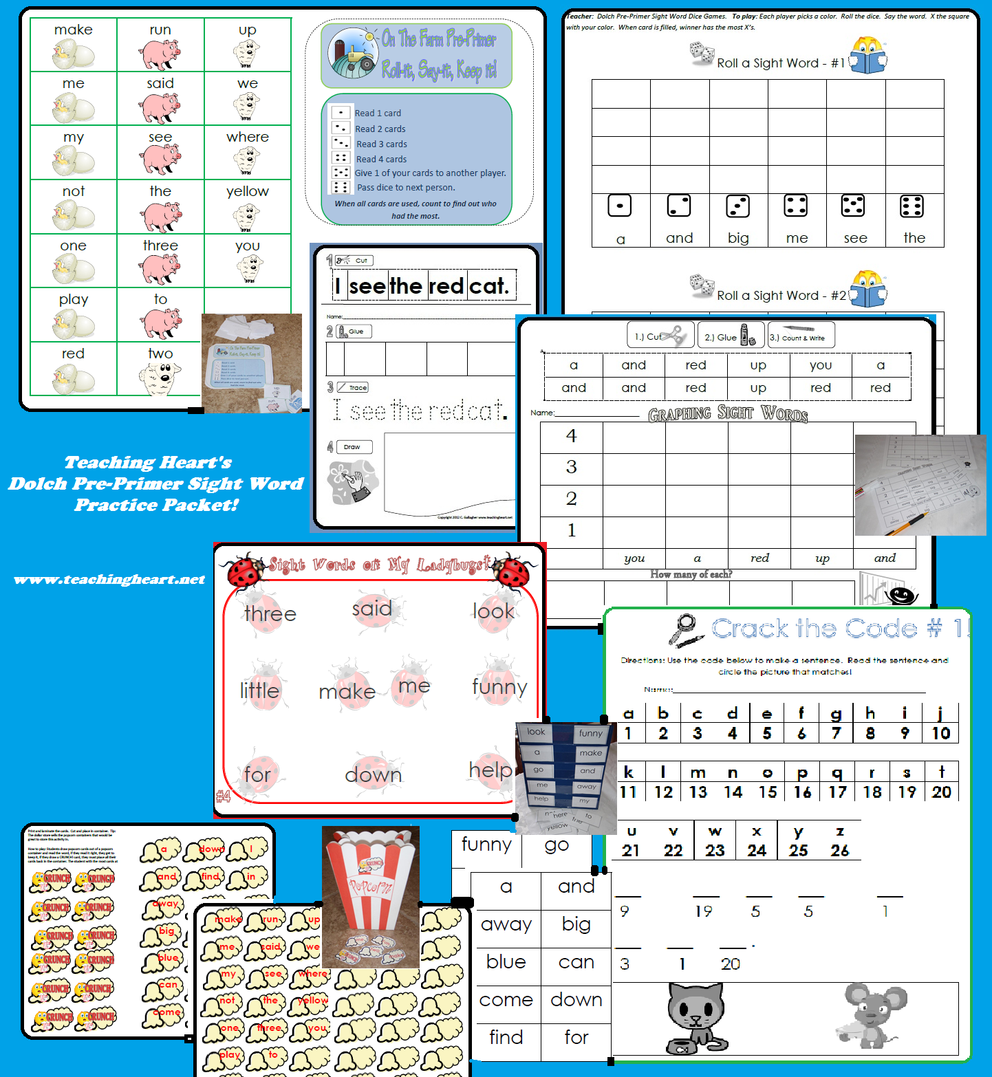 Here word activity check out print,  want more sight our ready Packet Word and to Sight packets