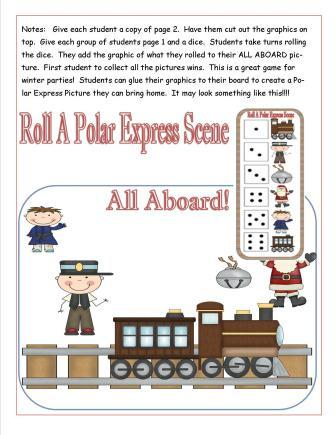 the polar express lessons ideas crafts and printables to page star