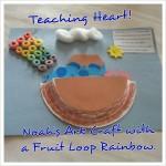 Noah's Ark Fruit Loop Craft Teaching Heart