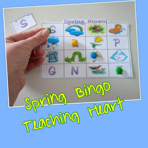 photograph relating to Spring Bingo Game Printable identified as Spring Bingo! Coaching Middle Site
