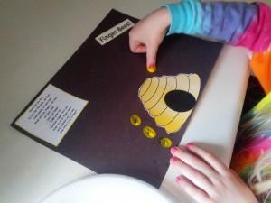 Finger Bees Teaching Heart