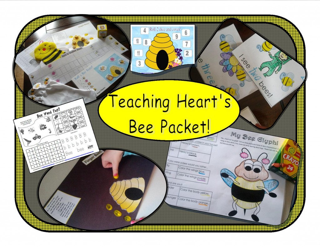 Teaching Heart Bee PAcket!