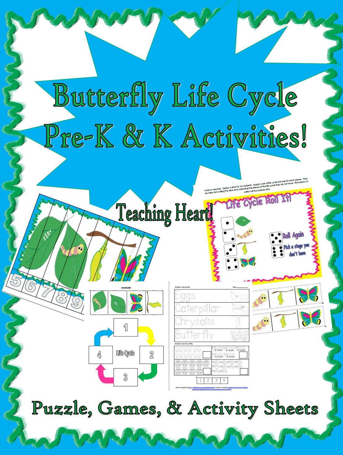 Free sle below from the preschool butterfly life cycle packet