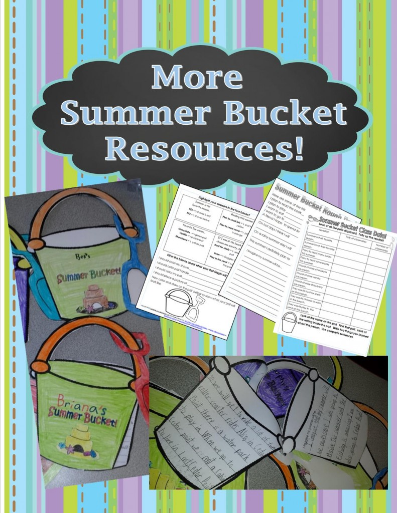 Summer Bucket Pail Resources