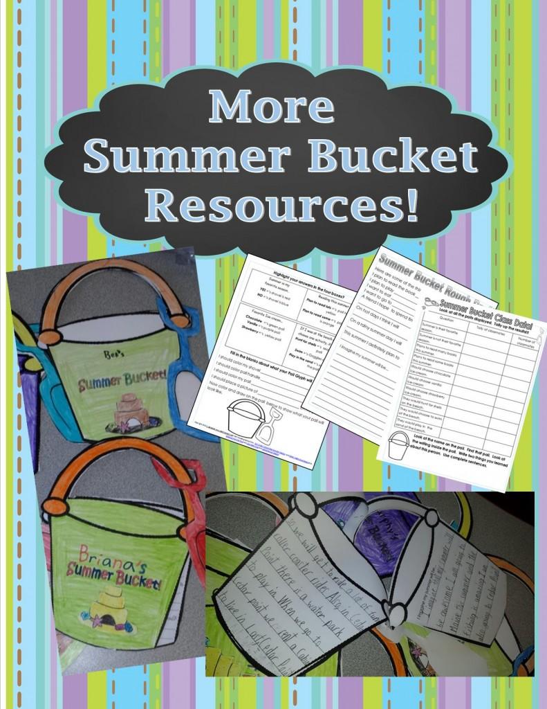 Summer Bucket Pail Resources