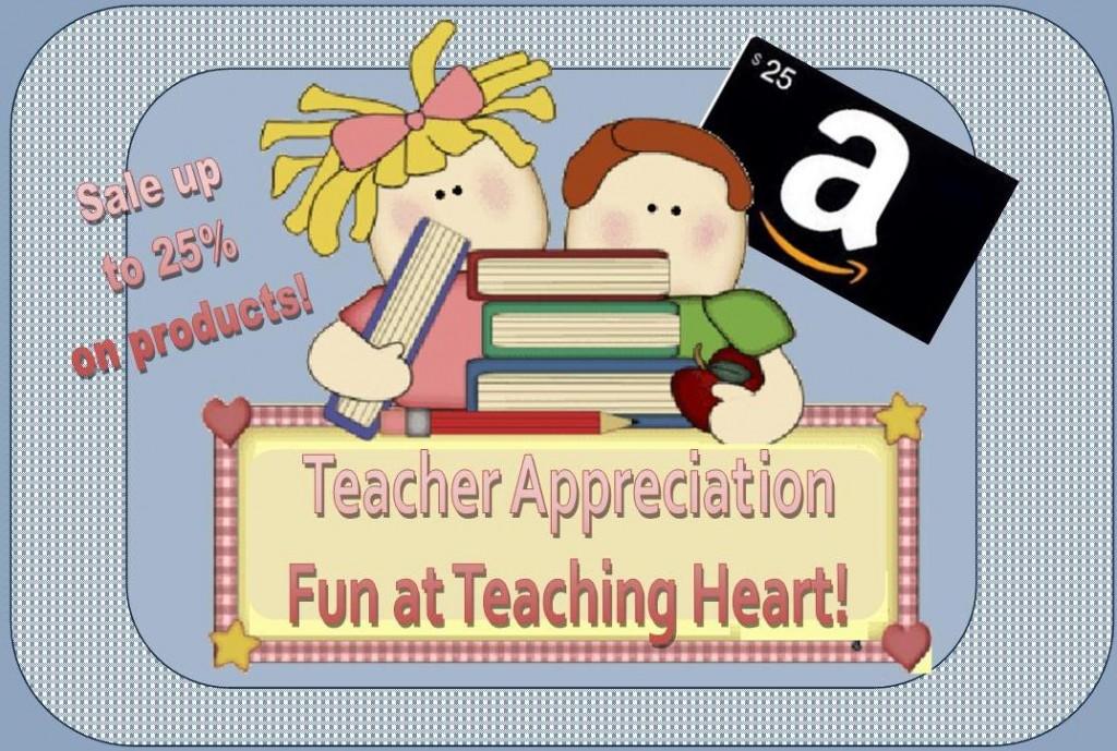 Teacher Appreciation Teaching Heart!