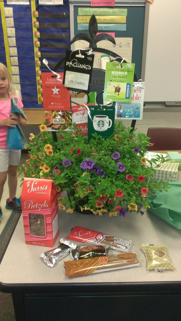 Summer Gift Card Flower