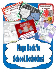 Tons of Back To School Teacher Files