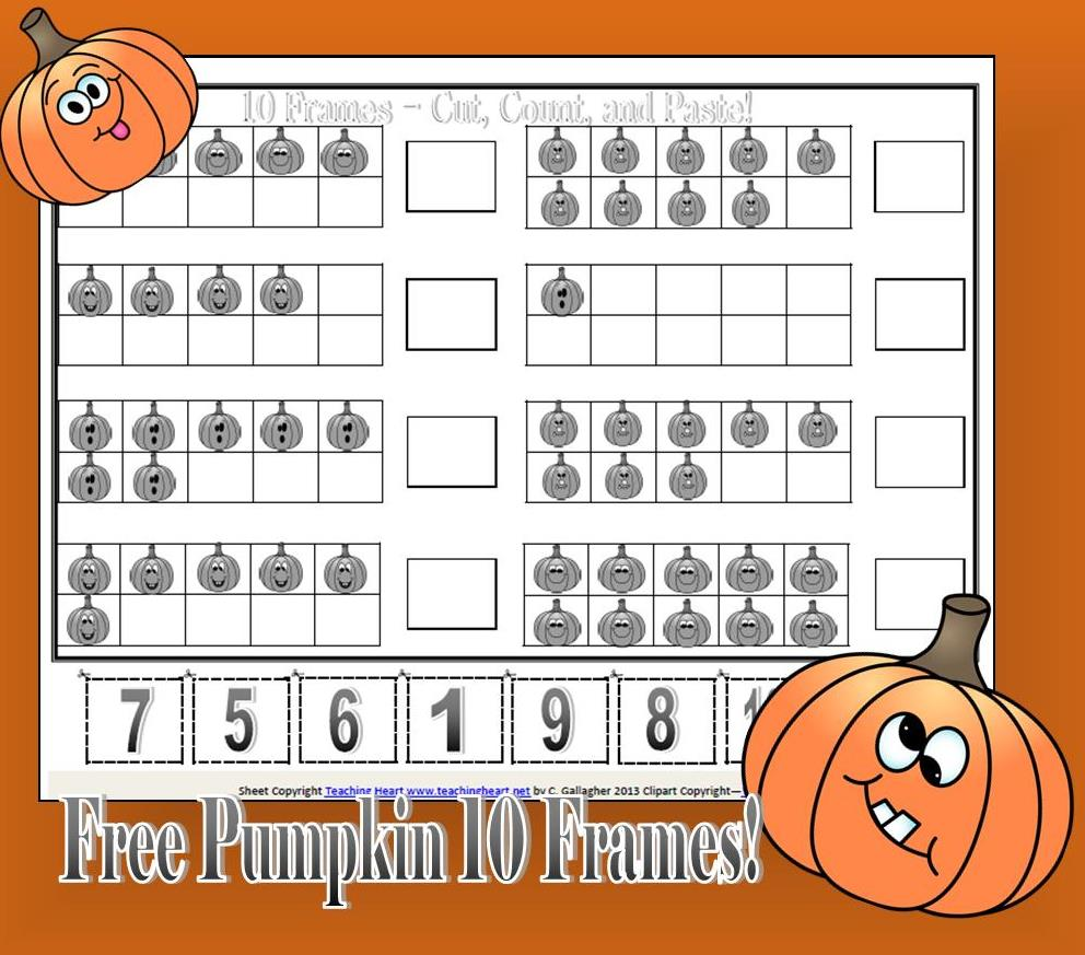 A Pumpkin Unit filled with lessons printables and more – Pumpkin Math Worksheets Kindergarten