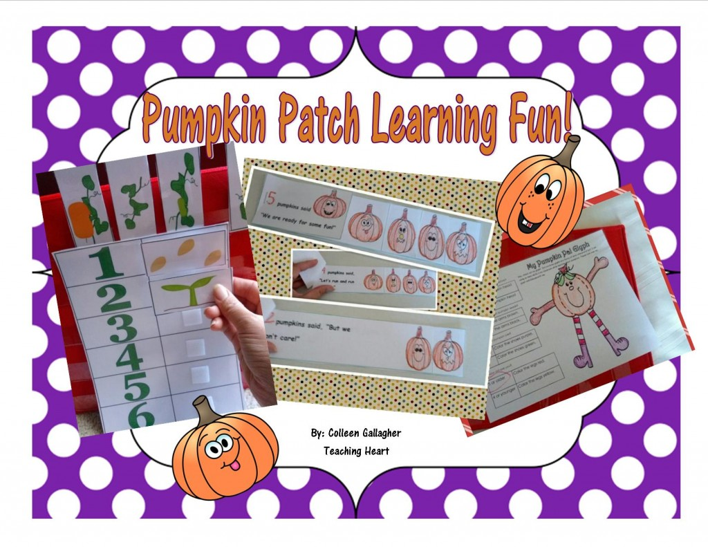 Pumpkin Printable Activities for Preschool and Kidergarten