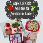 Apple Life Cycle Preschool Packet