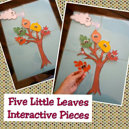 Leaf Fall Themed Printables for Preschool and Kindergarten