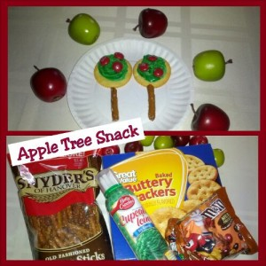 Apple Tree Snack From Teaching Heart