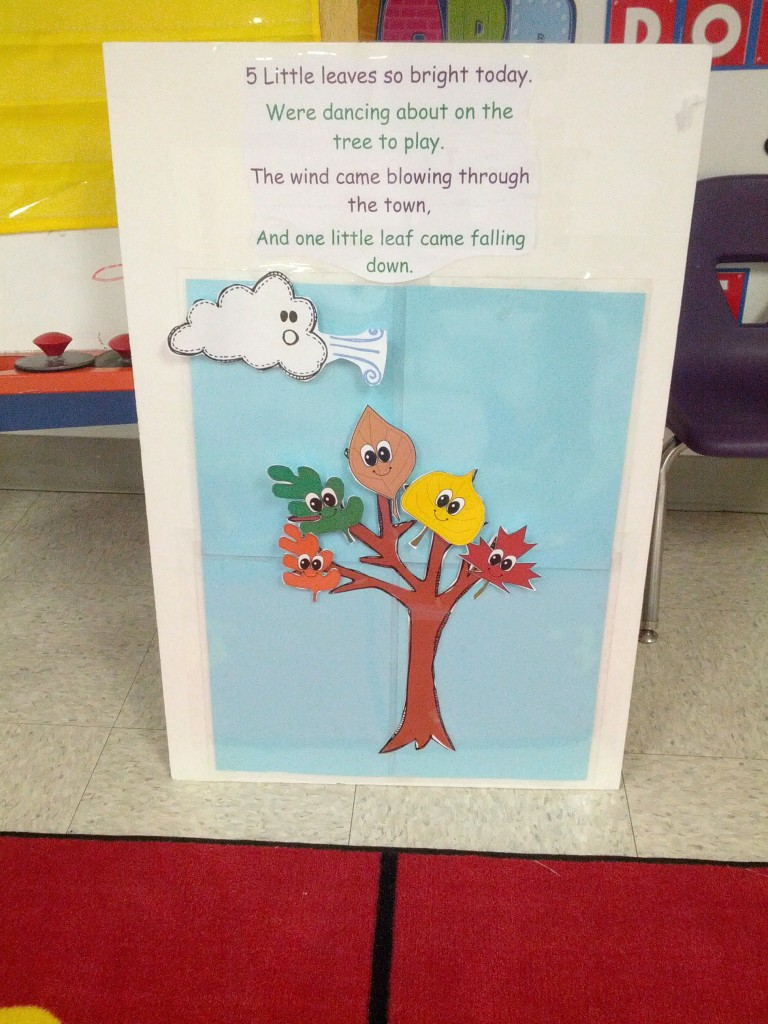 Leaf Theme in Preschool