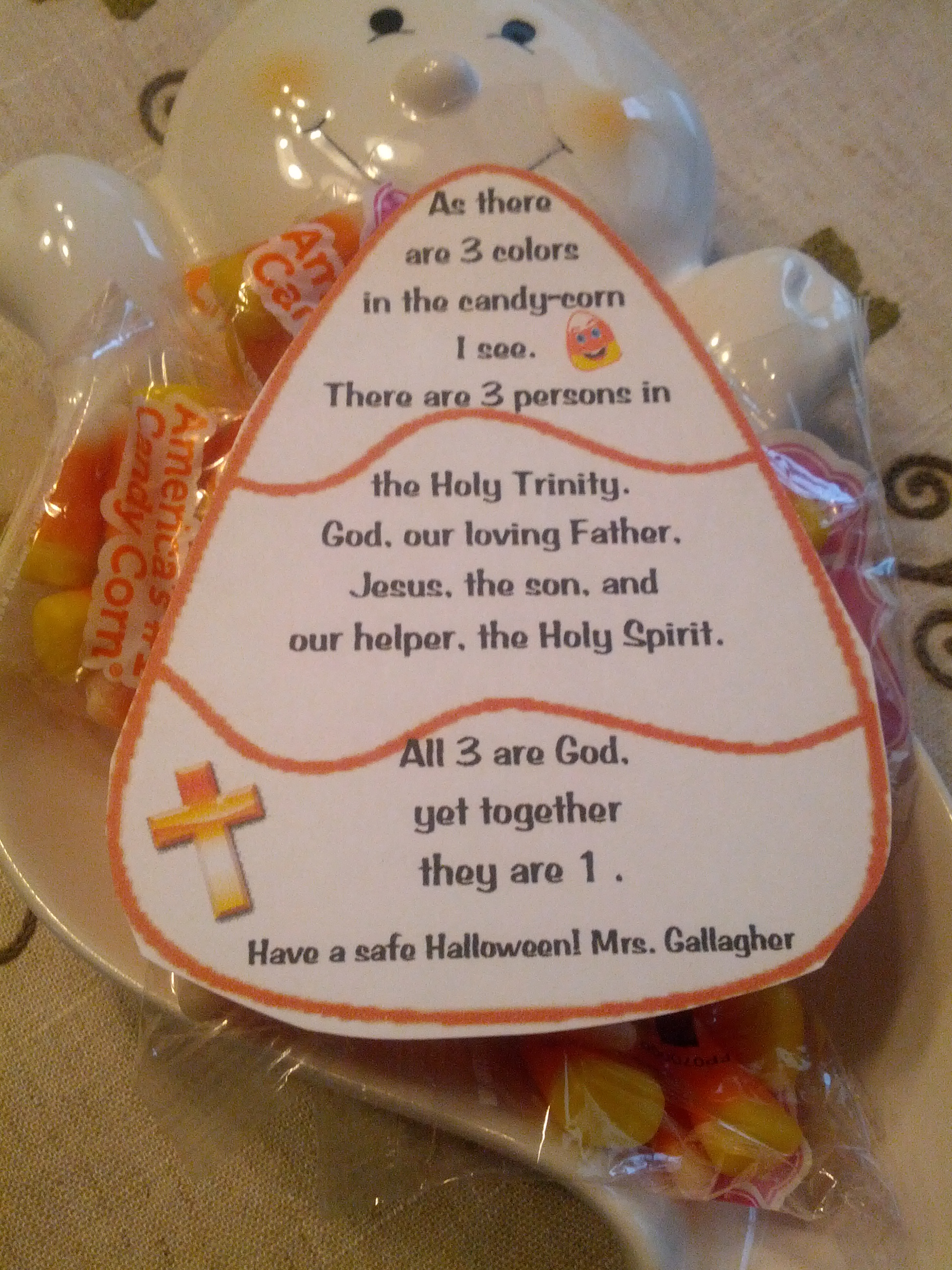 The Candy Corn is in three parts… Below is a tag you can attach to a ...