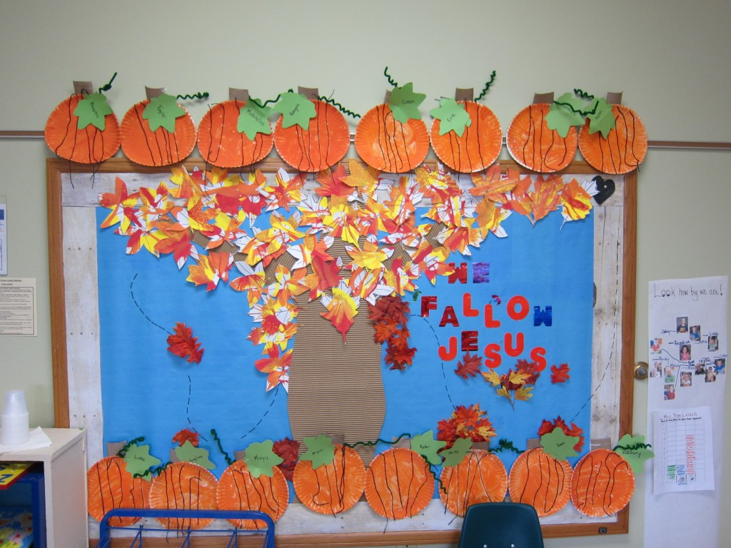 Leaf Spinner Art Bulletin Board