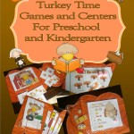 TurkeyTime Games and Centers for Preschool and Kindergarten