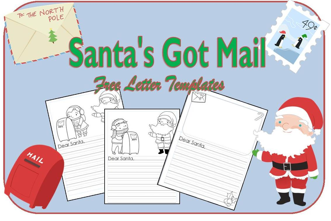 Christmas resources for teachers free santa letter templates spiritdancerdesigns Images