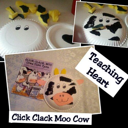 Click Clack Moo Paper Craft