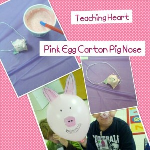 egg carton pig npse craft