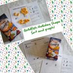 Goldfish Holiday Shapes Graph and Sorting Free Printable