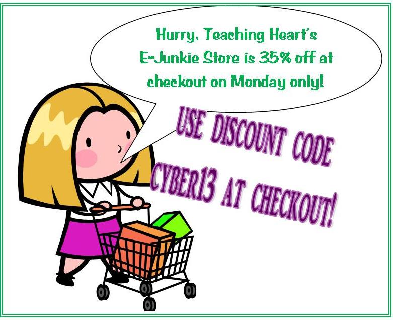 cyber monday teachingheart