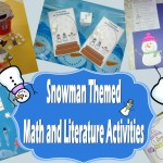 Snowman Themed Math and Literature Activities for Preschool and Kindergarten
