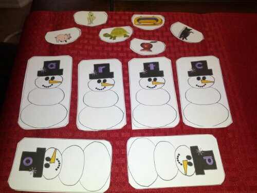 snowman beginning sounds