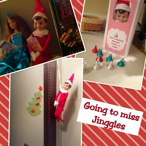 graphic regarding Elf on the Shelf Kissing Booth Free Printable named Simply a handful of Elf Upon The Shelf Times Remaining Instruction Center Website