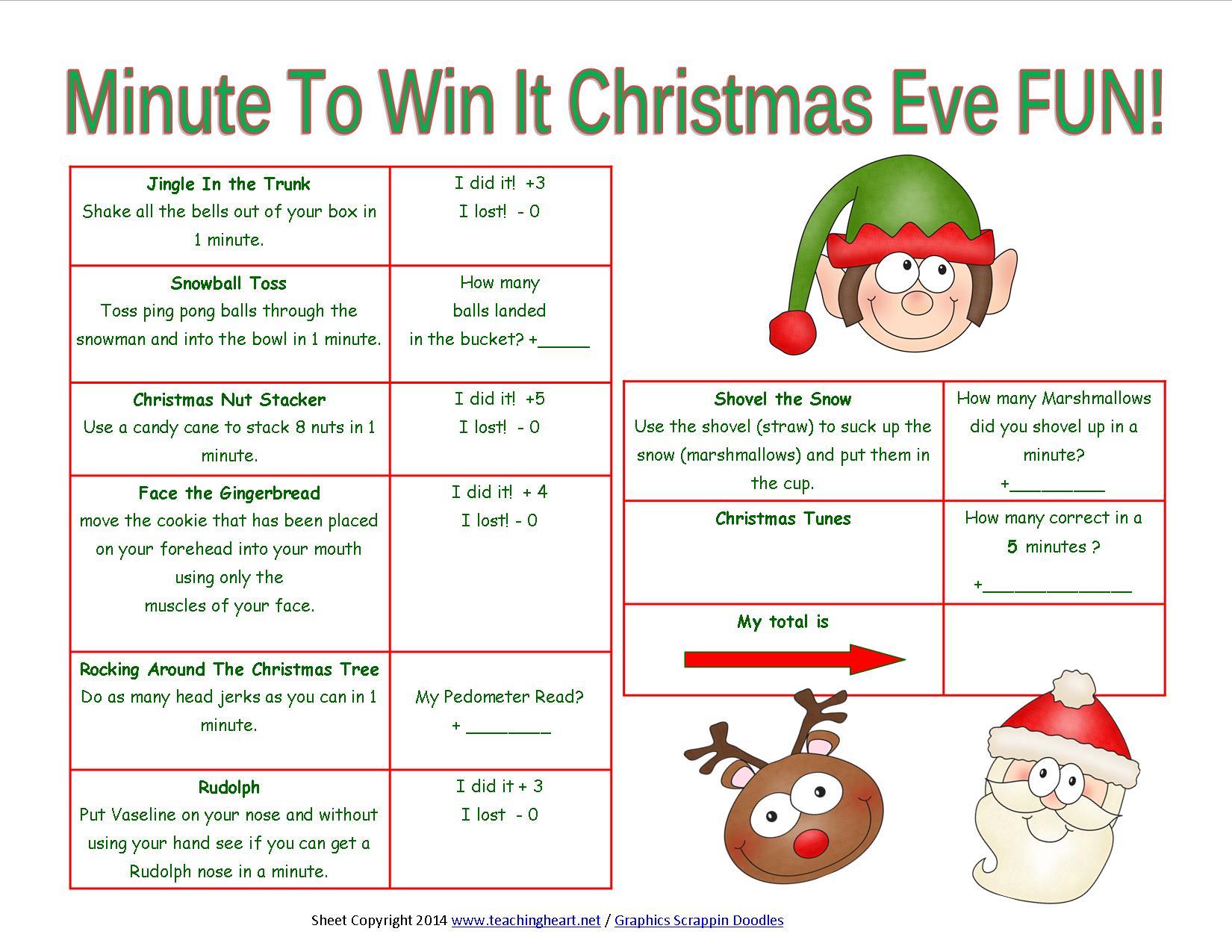 Christmas Printables for Next Year!!! - Teaching Heart Blog Teaching ...