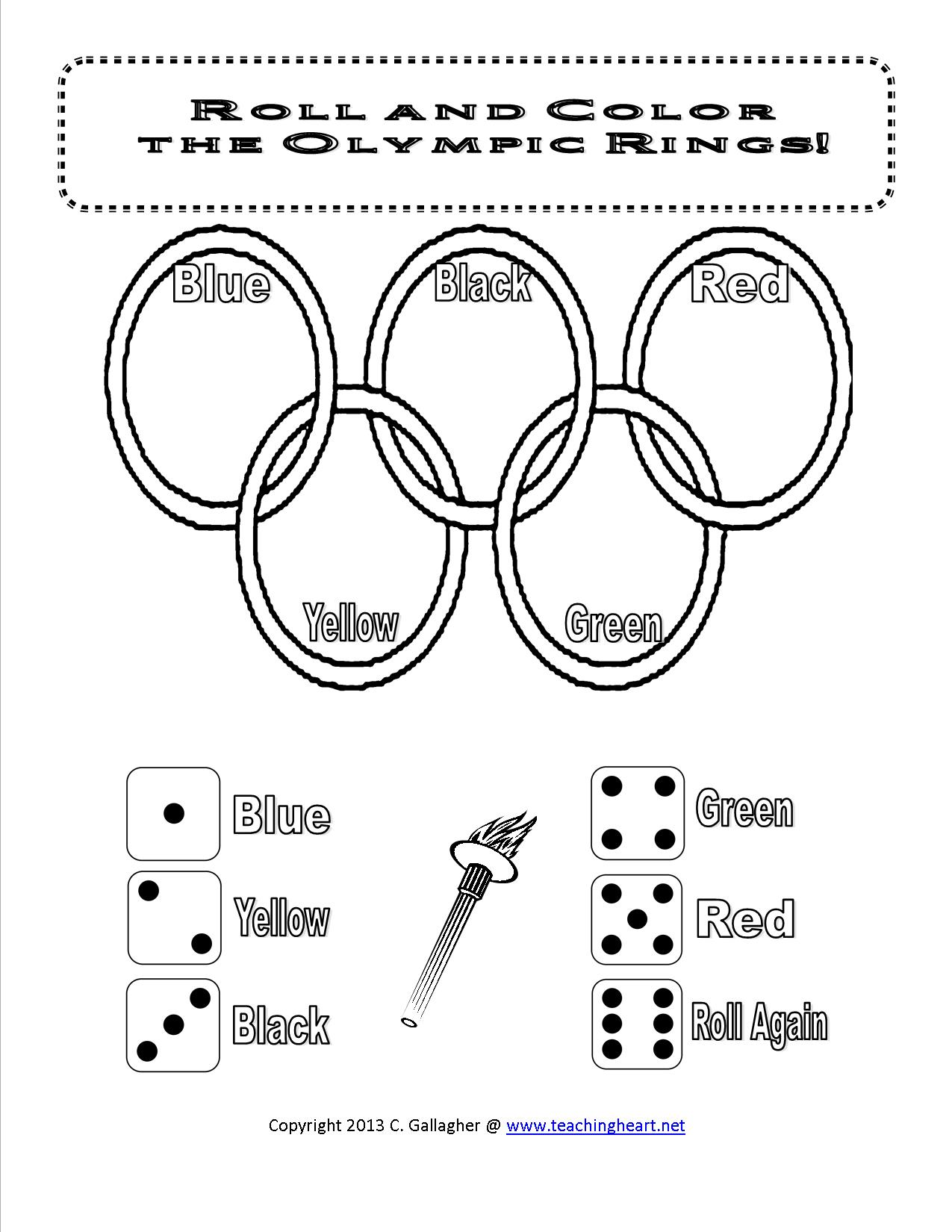 Free Roll Rings Olympic Dice Game