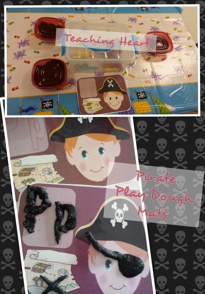 Pirate Play-doh Mats