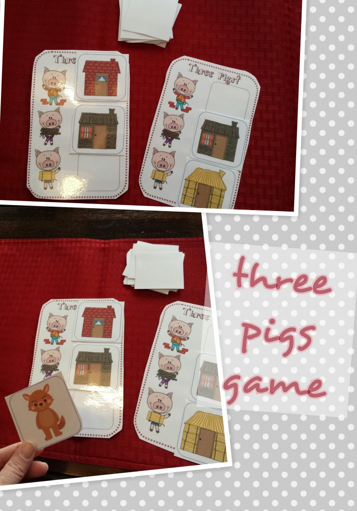 Three Little Pigs Game