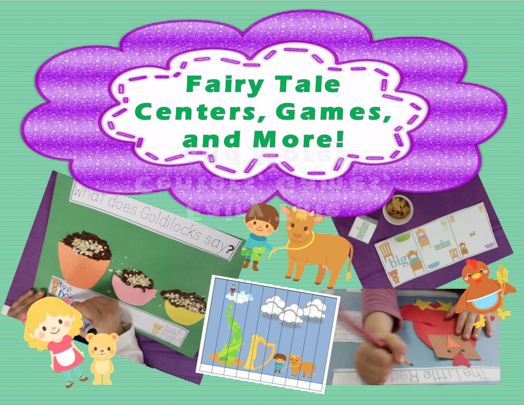 Teaching Heart Fairy Tales PAcket