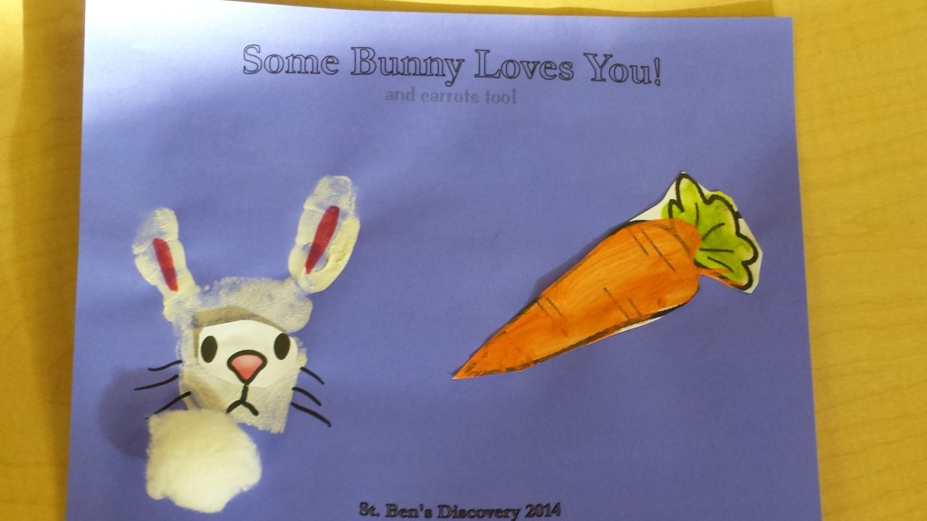 Some Bunny Loves You and Carrots Too Craft
