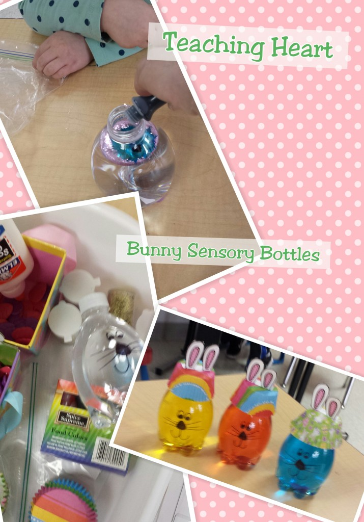 Bunny Sensory Bottle Craft