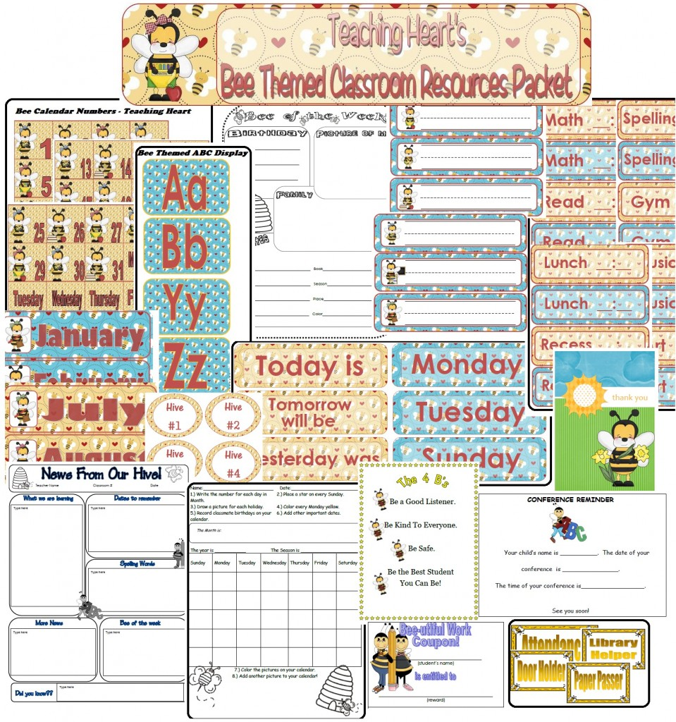 Bee Calendar and Form Themes