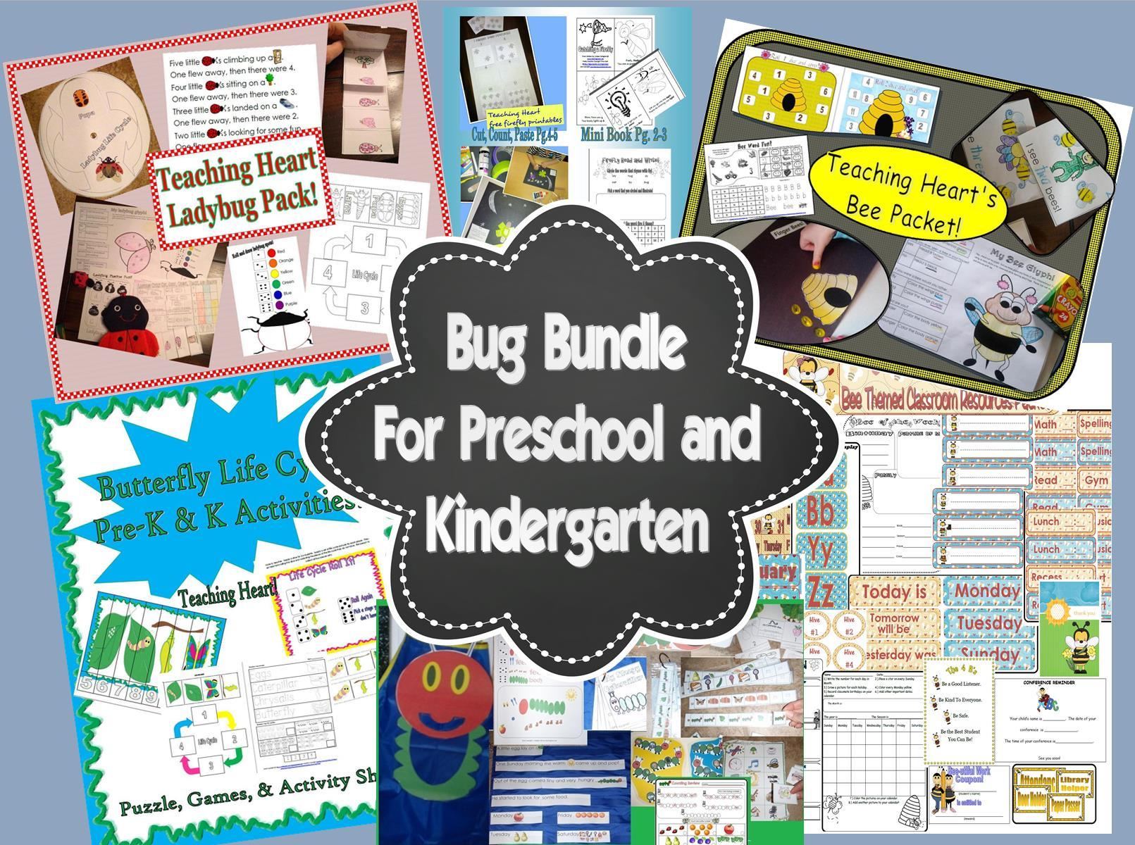 Insects Unit For Teachers - Links to printables, lessons ...