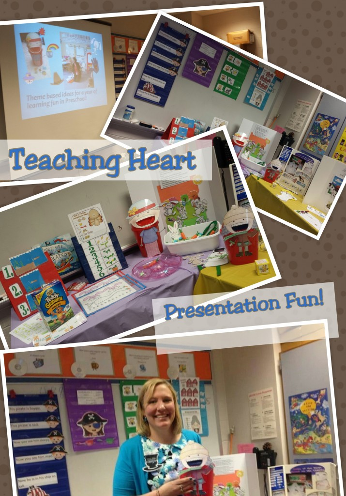 Teaching Heart Rocking Around the Preschool and Kindergarten Calendar!