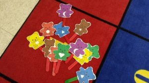color bears shapes activity