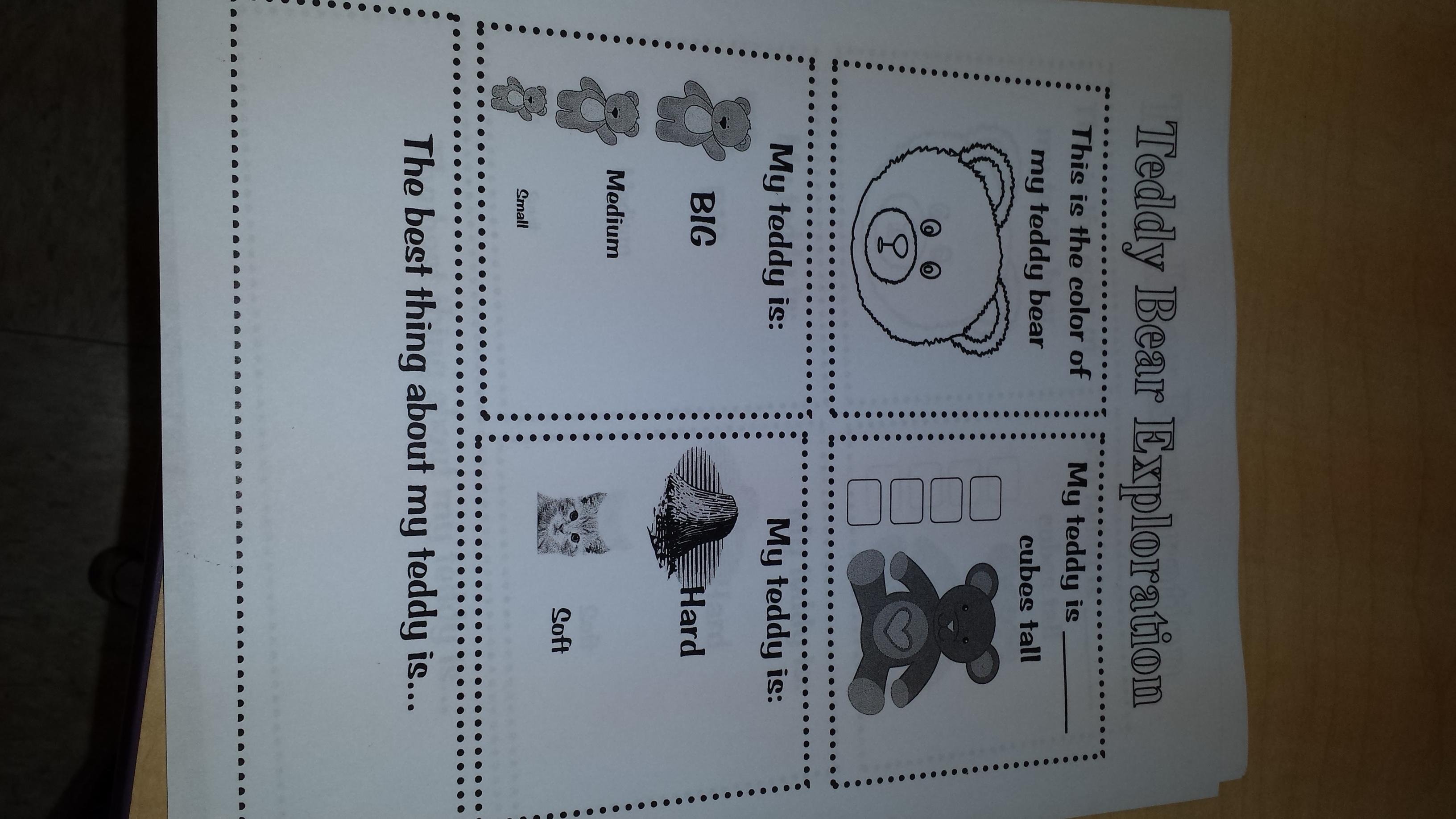 Teddy Bear Packet! - Teaching Heart Blog Teaching Heart Blog
