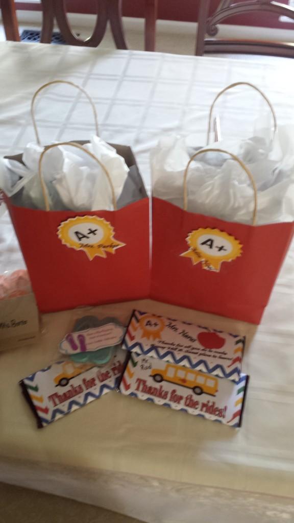 Teacher gifts 2014