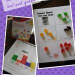 Summer Fruit Snacks Graph, Tally, Sort Free Printable