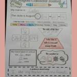 Calendar Journal Math Sheets