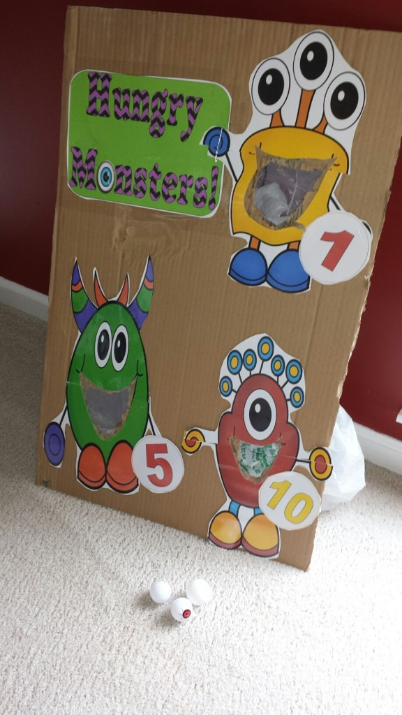 Hungry Monsters Adding Game
